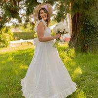 Abbigliamento Donna Abiti lunghi Céleste AURORE Bianco