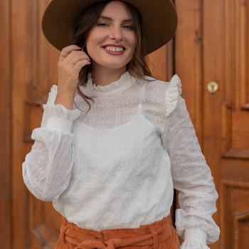 Abbigliamento Donna Top / Blusa Céleste HIRONDELLE Bianco