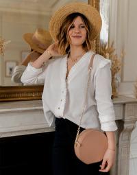 Abbigliamento Donna Top / Blusa Céleste ZEPHYR Bianco