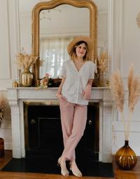 Abbigliamento Donna Top / Blusa Céleste MESANGE Bianco