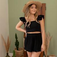Abbigliamento Donna Shorts / Bermuda Céleste MAGNOLIA Nero