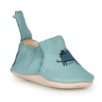 Scarpe Unisex bambino Pantofole Easy Peasy BLUMOO Mou / Mist-impr / Ours / Mou / Pelle