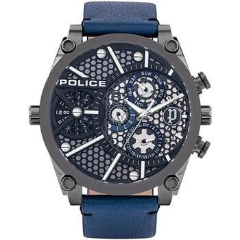 Orologi & Gioielli Uomo Orologio Analogico Police PL15381JSU.61B, Quartz, 51mm, 3ATM Nero
