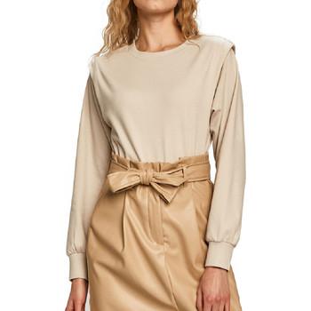 Abbigliamento Donna Felpe Jacqueline De Yong 15225001 Beige