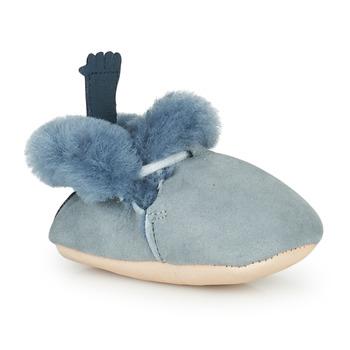 Scarpe Unisex bambino Pantofole Easy Peasy MINIMOO Mou / Denim / Mou / Pelle