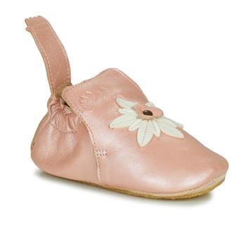 Scarpe Bambina Pantofole Easy Peasy BLUBLU EDELWEISS Mou / Rosa / Baba / Mou / Patin