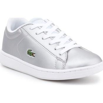 Scarpe Unisex bambino Sneakers basse Lacoste 734SPC0006334 Argento