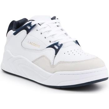 Scarpe Uomo Sneakers basse Lacoste Court Slam 319 2 Bianco, Blu marino