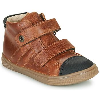 Scarpe Bambino Sneakers alte GBB KERWAN Marrone