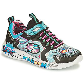 Scarpe Bambina Sneakers basse Skechers DYNAMIGHT/HERO STATUS Multicolore
