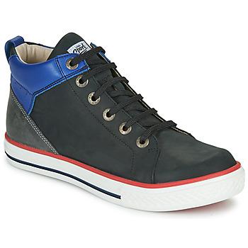 Scarpe Bambino Sneakers alte GBB MERINO Nero