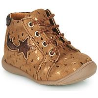 Scarpe Bambina Sneakers alte GBB POMME Marrone