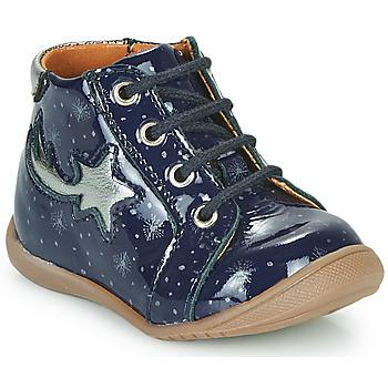 Scarpe Bambina Sneakers alte GBB POMME Blu