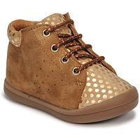 Scarpe Bambina Sneakers alte GBB NAHIA Marrone