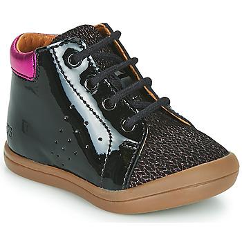 Scarpe Bambina Sneakers alte GBB NAHIA Nero