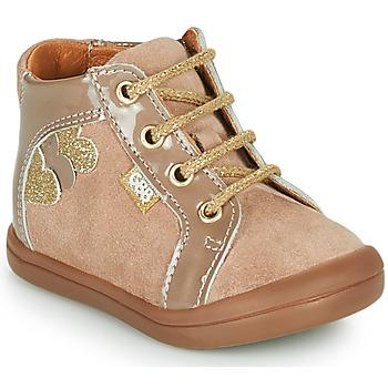 Scarpe Bambina Sneakers alte GBB PRUNE Beige