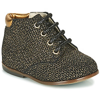 Scarpe Bambina Sneakers alte GBB TACOMA Oro
