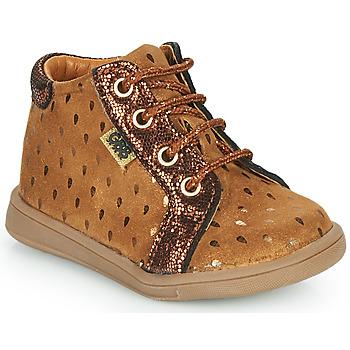 Scarpe Bambina Sneakers alte GBB FAMIA Marrone