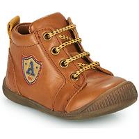 Scarpe Bambino Sneakers alte GBB EDWIN Marrone