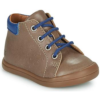 Scarpe Bambino Sneakers alte GBB TIDO Marrone