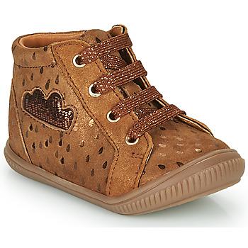 Scarpe Bambina Sneakers alte GBB MASHA Marrone