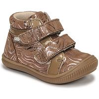Scarpe Bambina Sneakers alte GBB EDEA Beige