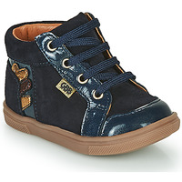 Scarpe Bambina Sneakers alte GBB TERRA Blu