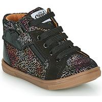 Scarpe Bambina Sneakers alte GBB VALA Nero
