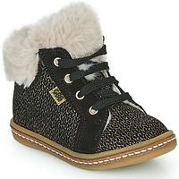 Scarpe Bambina Sneakers alte GBB JUNA Nero