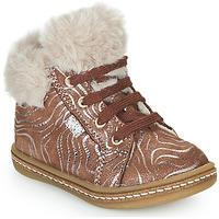 Scarpe Bambina Sneakers alte GBB JUNA Beige
