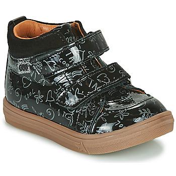 Scarpe Bambina Sneakers alte GBB DOMENA Nero