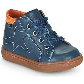 Scarpe Bambino Sneakers alte GBB DOMINICO Blu