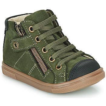 Scarpe Bambino Sneakers alte GBB KAMIL Verde