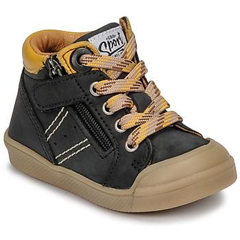 Scarpe Bambino Sneakers alte GBB ANATOLE Nero