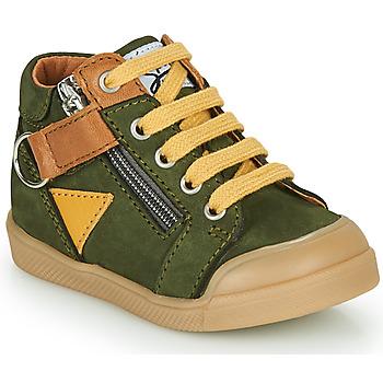 Scarpe Bambino Sneakers alte GBB TIMOTHE Verde