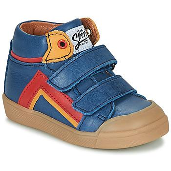 Scarpe Bambino Sneakers alte GBB ERNEST Blu