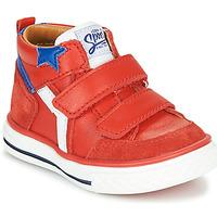 Scarpe Bambino Sneakers alte GBB FLAVIO Rosso