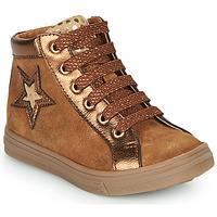 Scarpe Bambina Sneakers alte GBB TADEA Marrone