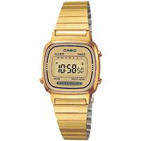 Orologi & Gioielli Donna Orologio Digitale Casio LA670WEGA-9EF, Quartz, 24mm, 1ATM Oro