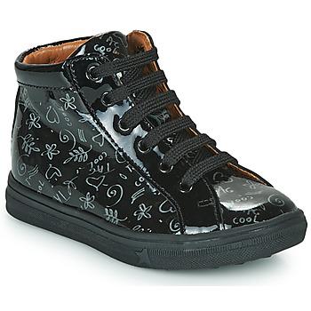 Scarpe Bambina Sneakers alte GBB PHILEMA Nero