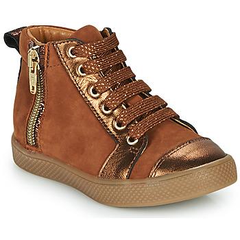 Scarpe Bambina Sneakers alte GBB SAVIA Marrone
