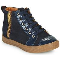 Scarpe Bambina Sneakers alte GBB SAVIA Blu
