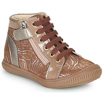 Scarpe Bambina Sneakers alte GBB RACHIDA Beige