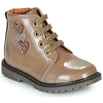 Scarpe Bambina Sneakers alte GBB MOIRA Beige