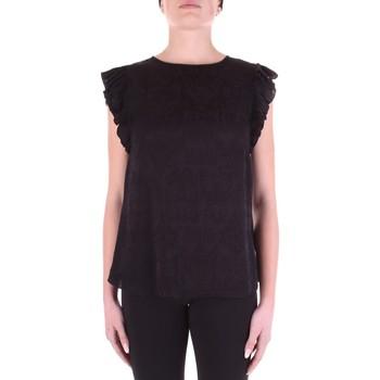 Abbigliamento Donna Top / Blusa Versace B0HWA631-09475 Nero