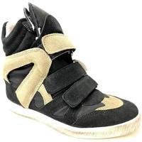 Scarpe Donna Sneakers alte Gwen ATRMPN-24218 Nero