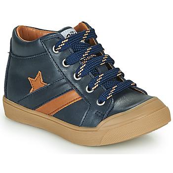 Scarpe Bambino Sneakers alte GBB LEON Blu