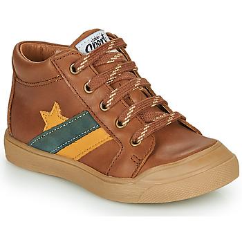 Scarpe Bambino Sneakers alte GBB LEON Marrone