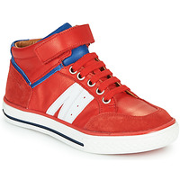 Scarpe Bambino Sneakers alte GBB ALIMO Rosso