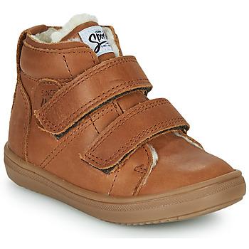 Scarpe Bambino Sneakers alte GBB DIEGGO Marrone